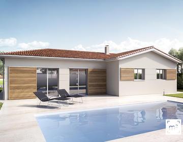 maison 100m² + terrain 600m² - constructeur de maisons Bordeaux
