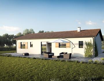 Idéal primo accédant maison 2 ch avec garage - constructeur de maisons Bordeaux