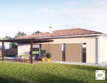 Maison T4 - 90m² - constructeur de maisons Parentis