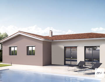 Maison 90m² - constructeur de maisons Parentis