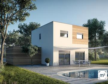 Maison T5 au calme - constructeur de maisons Parentis