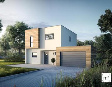 Maison T5 Garage Belin Beliet - constructeur de maisons Parentis