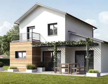 Maison T5 Mimizan bourg - constructeur de maisons Parentis