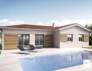 Maison neuve 100m² avec suite - Biscarrosse - constructeur de maisons Parentis
