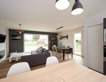 Maison contemporaine a Colayrac - constructeur de maisons Agen