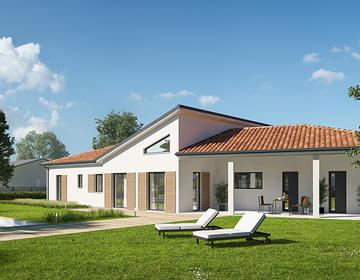 Rare, maison neuve sur coteaux de Layrac - constructeur de maisons Agen