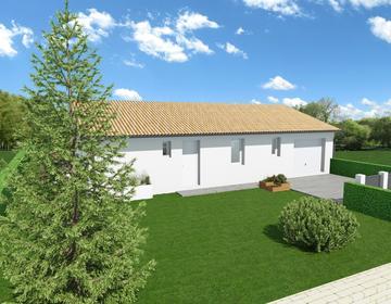TERRAIN DE 892M2 LABOUHEYRE - constructeur de maisons Parentis