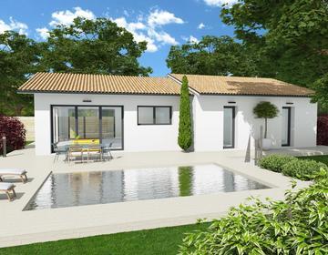 Maison 95m² - Sanguinet - constructeur de maisons Parentis