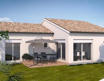 Projet Maison L - constructeur de maisons Toulouse