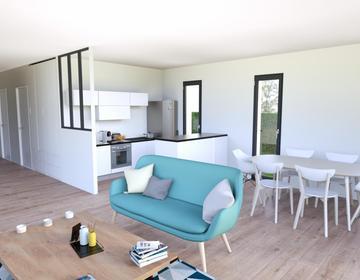Beautiran maison 3 chambres - constructeur de maisons Bordeaux