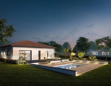 Villenave d'Ornon maison 3 chambres - constructeur de maisons Bordeaux