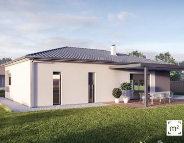 Maison Neuve en L à CESTAS - constructeur de maisons Bordeaux