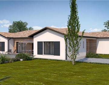 Maison neuve à Roquefort - constructeur de maisons Agen