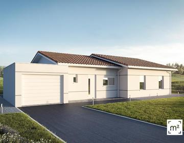 maison 110m² + garage - constructeur de maisons Parentis