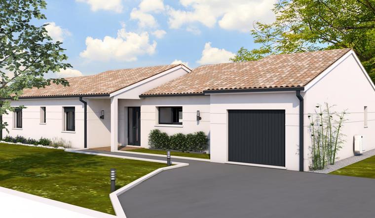 Projet à Tonneins - constructeur de maisons Agen