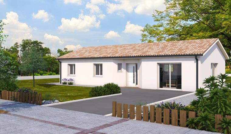 Projet à Aiguilloin - constructeur de maisons Agen