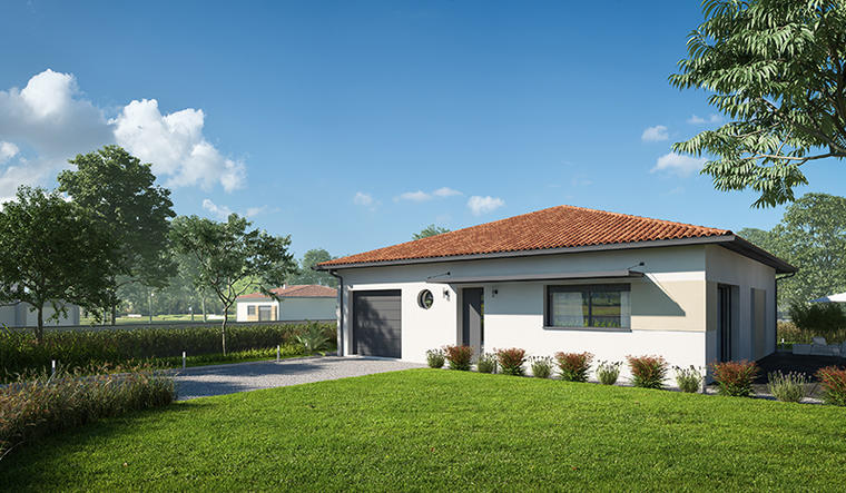 Projet à Nerac - constructeur de maisons Agen