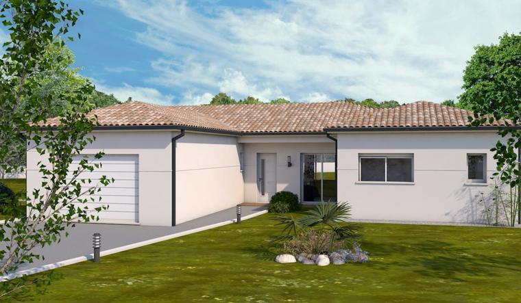 projet de maison contemporaine - constructeur de maisons Toulouse