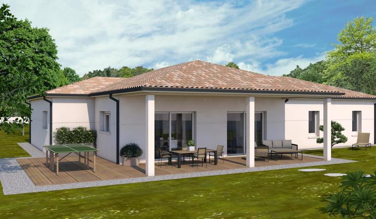 Projet à Beaupuy - constructeur de maisons Agen