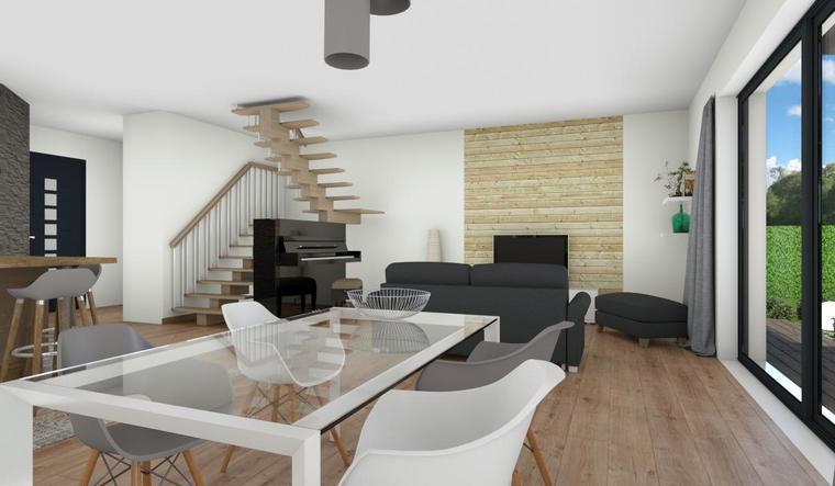 NOUVEAUTE - BELLE MAISON MODERNE BLANQUEFORT - constructeur de maisons Bordeaux