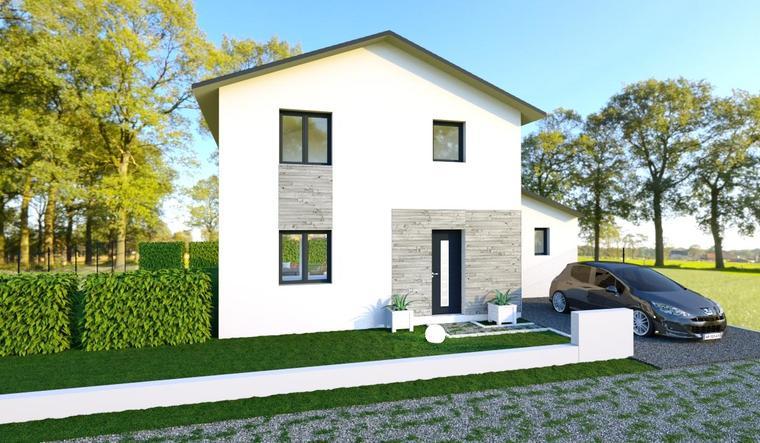Maison 3 chambres et garage - constructeur de maisons Bordeaux