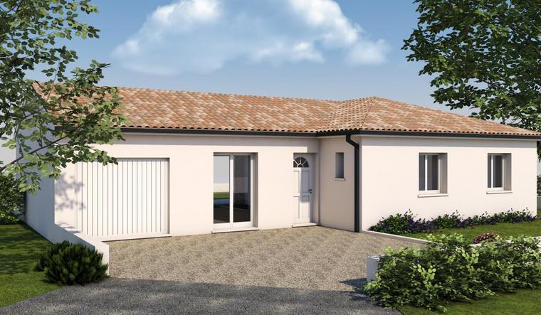 Maison t5 constructeur de maisons toulouse for Constructeur maison contemporaine toulouse