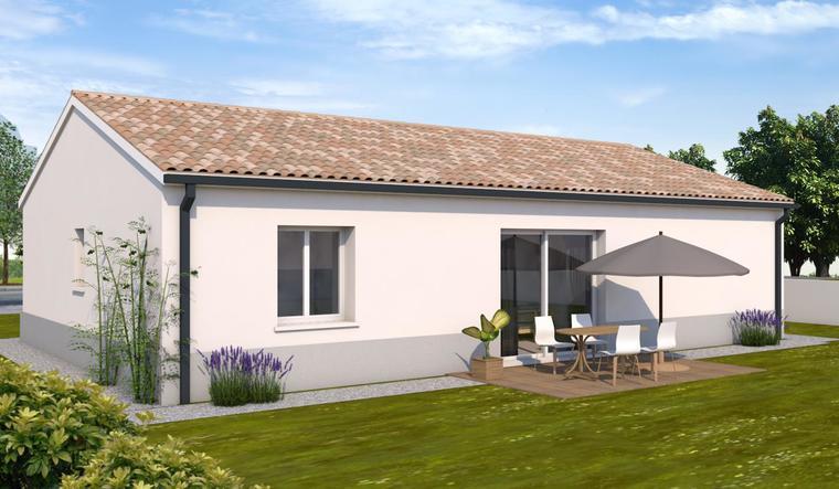 Maison T3 plain pied - constructeur de maisons Toulouse