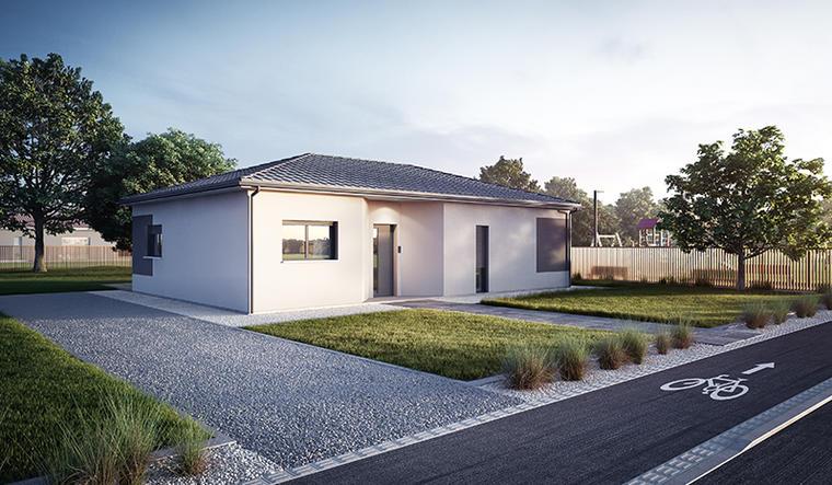 Maison plain-pied 85m² - Fargues Saint-Hilaire - constructeur de maisons Bordeaux