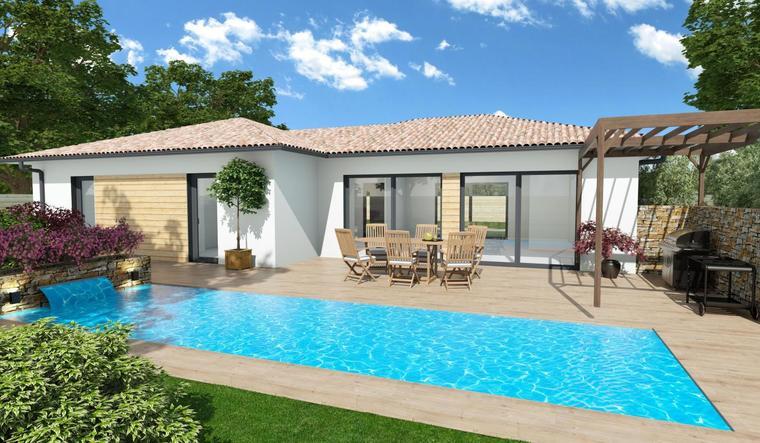 Maison 100m² - constructeur de maisons Parentis