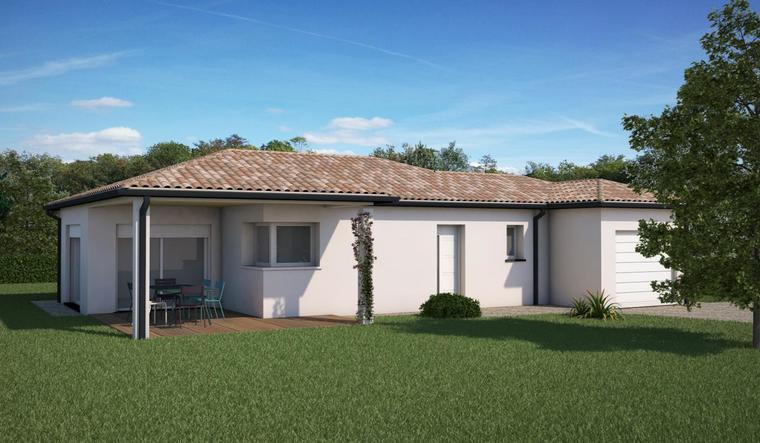 Porche bouliac carignan de bordeaux projet de standing for Constructeur maison bordeaux