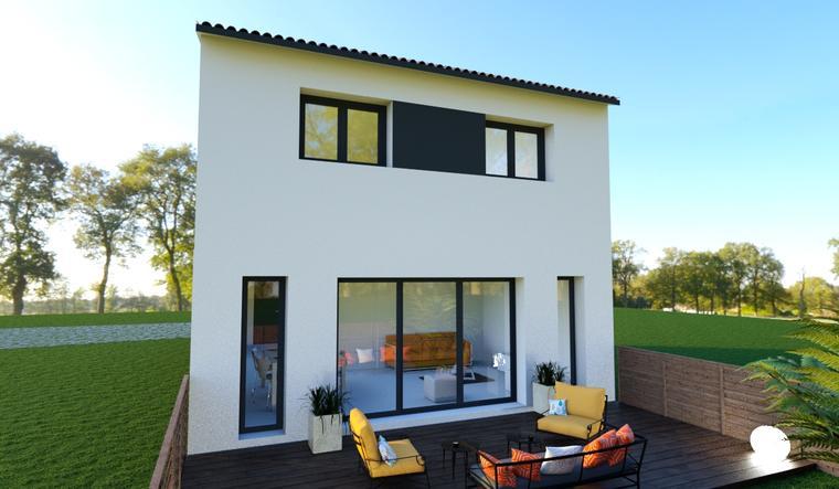 Pessac Maison 4 chambres - constructeur de maisons Bordeaux