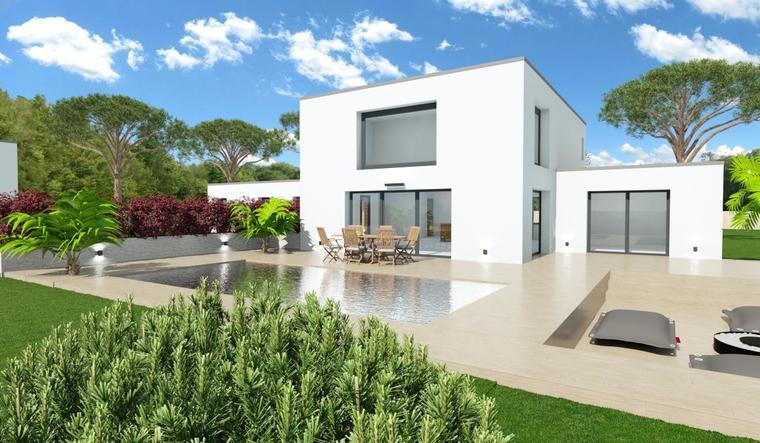 Bordeaux - Maison Étage de 100m² Contemporaine- - constructeur de maisons Bordeaux