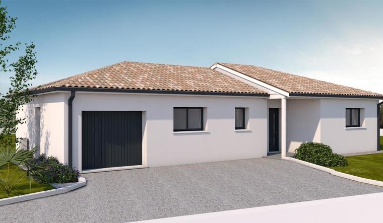 Projet maison neuve LAGARDE - constructeur de maisons Agen