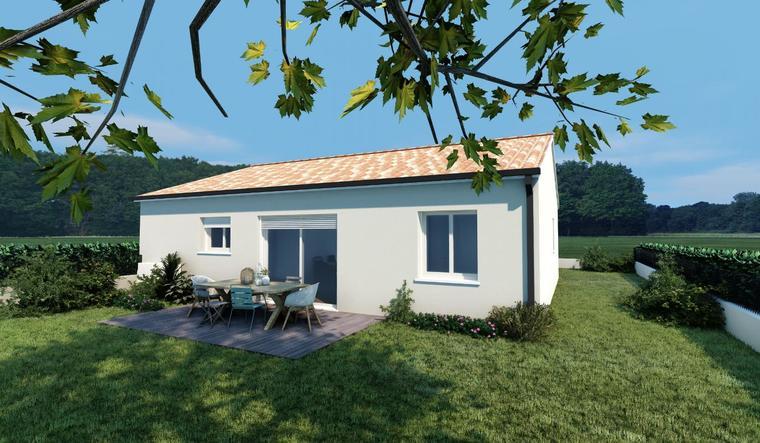 Maison Neuve 3 chambres aux portes de Bordeaux - constructeur de maisons Bordeaux