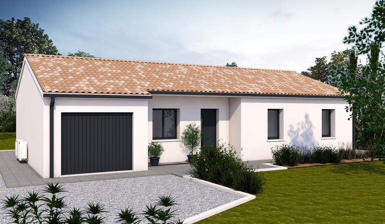 Maison neuve à Castelnau d'Estrétefonds - constructeur de maisons Agen