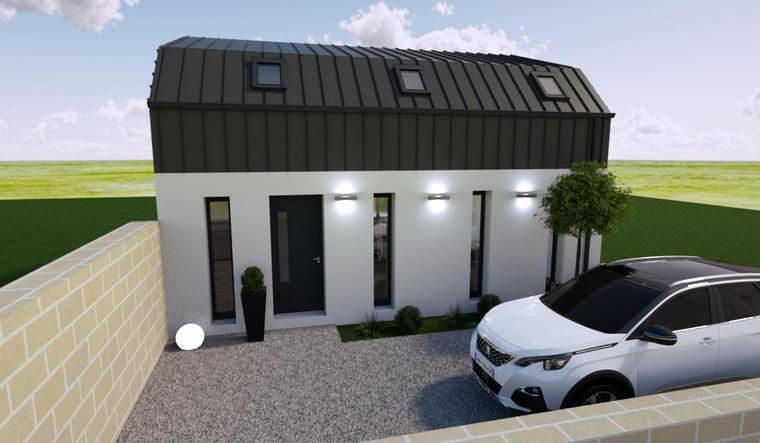 Bordeaux - Maison Etage 90m² - constructeur de maisons Bordeaux