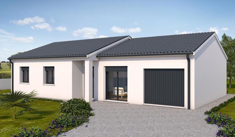 Nouveau à Saint-Caprais-de-Bordeaux - constructeur de maisons Bordeaux