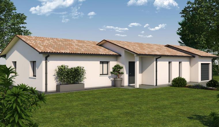 Votre maison sur mesure à CENAC-10 minutes de la rocade Bordelaise. - constructeur de maisons Bordeaux
