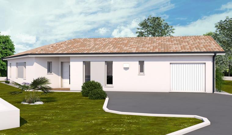 Maison T5 Contemporaine 120m² à Salles - constructeur de maisons Bordeaux