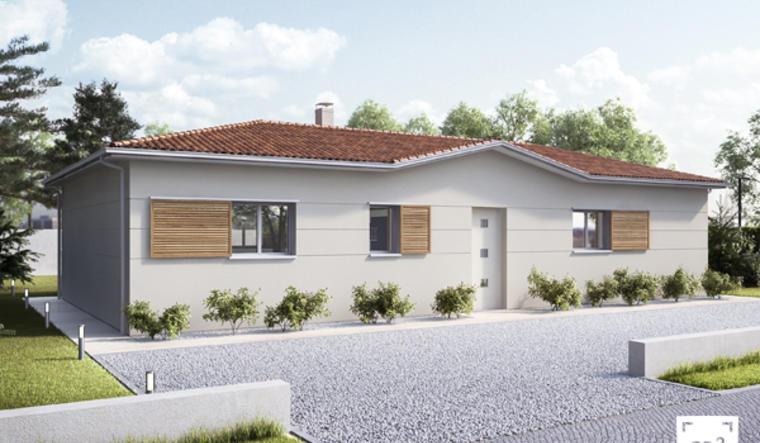 Salles Nouveau!  maison 4 chambres - constructeur de maisons Bordeaux