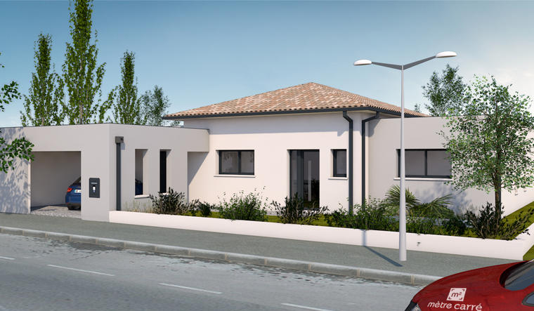 Maison 4 pièces à Moirax - constructeur de maisons Agen