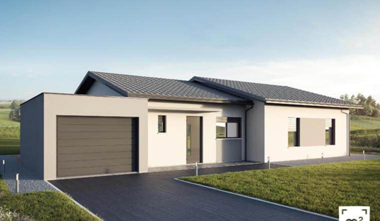 Villa contemporaine 4 ch à Boé - constructeur de maisons Agen