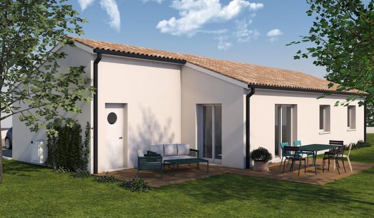 Maison T3/4 - constructeur de maisons Toulouse