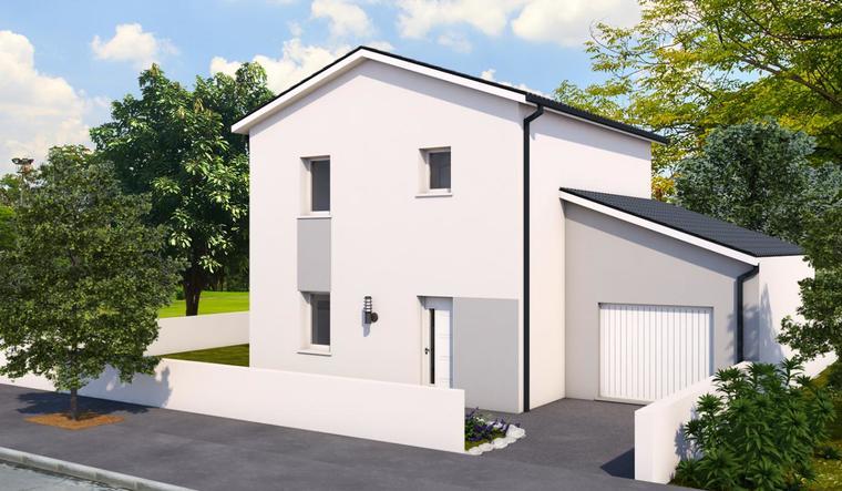 Maison à étage - constructeur de maisons Toulouse