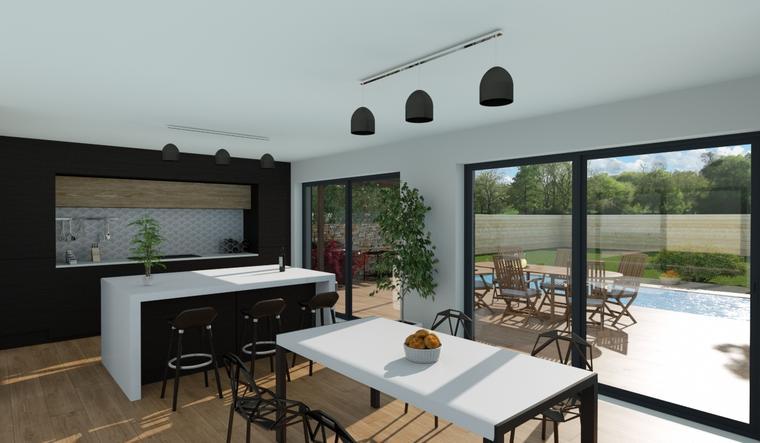 maison 115m² - constructeur de maisons Bordeaux