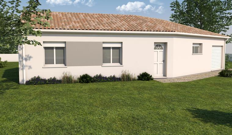 Projet maison V - constructeur de maisons Toulouse