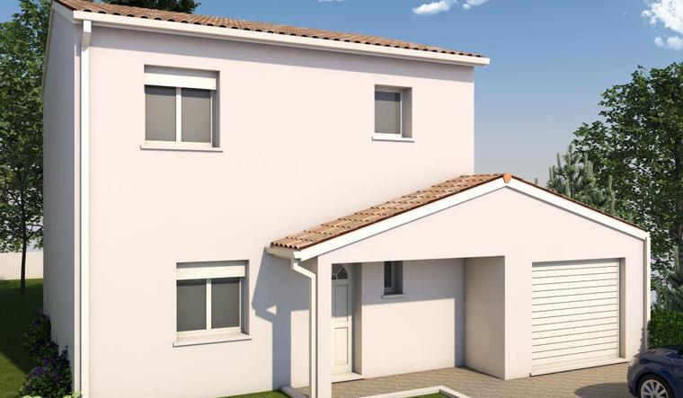 Projet maison à 94m² - constructeur de maisons Toulouse