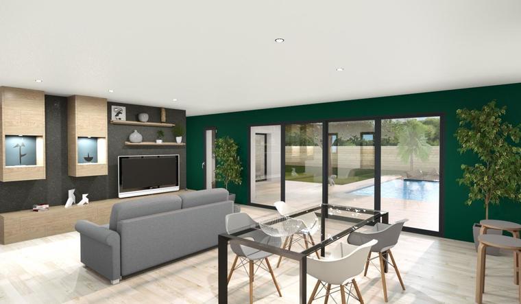 Maison 120m² + garage - constructeur de maisons Bordeaux
