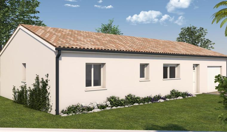 Maison plain pied T4 - constructeur de maisons Toulouse