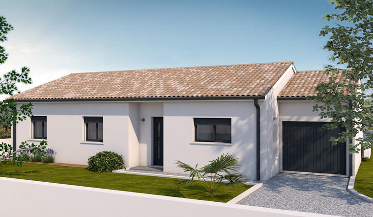 T5 plain pied - constructeur de maisons Toulouse